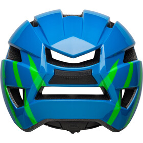 Bell Sidetrack II Kask Dzieci, strike gloss blue/green